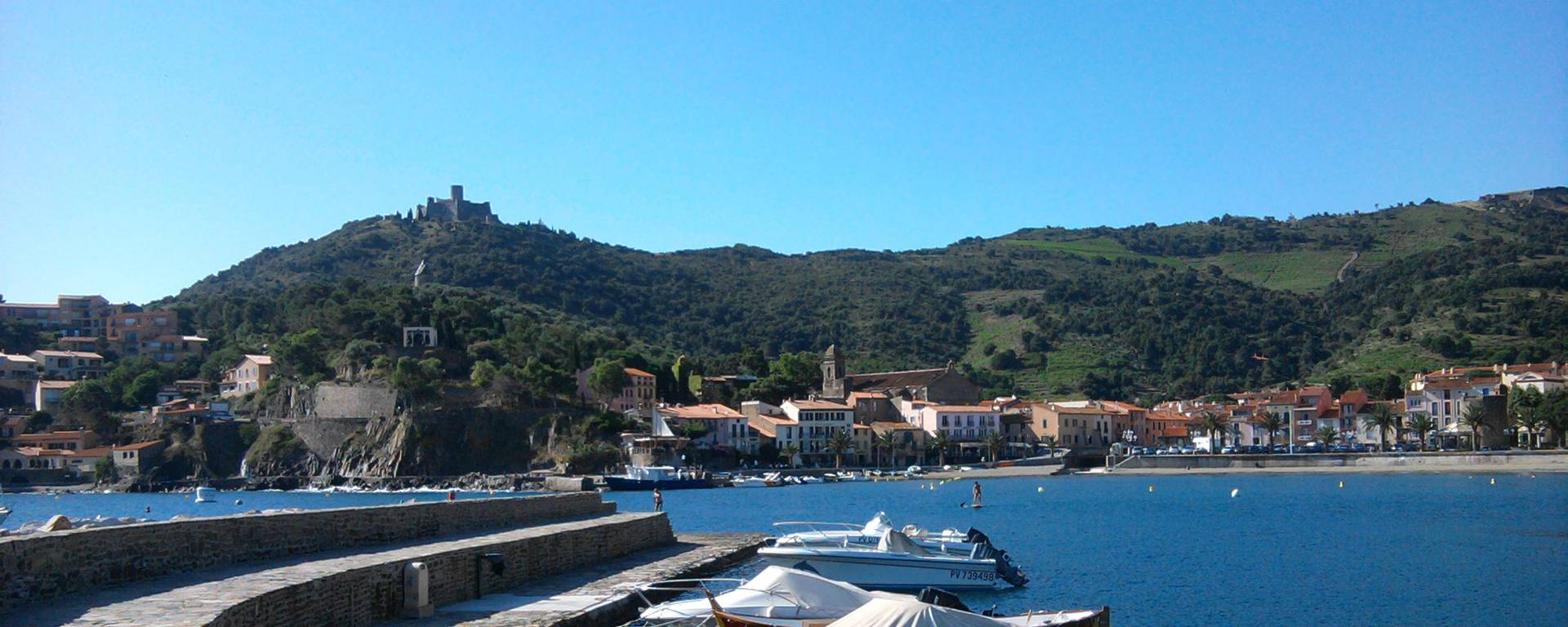 The port of Colioure